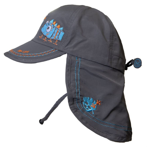 Calikids UV Chameleon Flap Hat