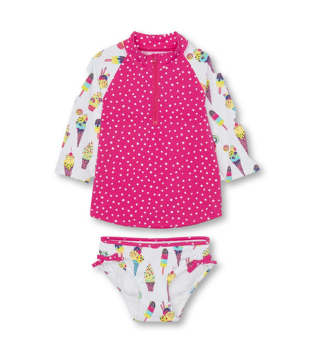 Hatley Cool Treats Rashguard Set - 7