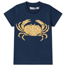 Load image into Gallery viewer, Minymo Yellow Crab Tee