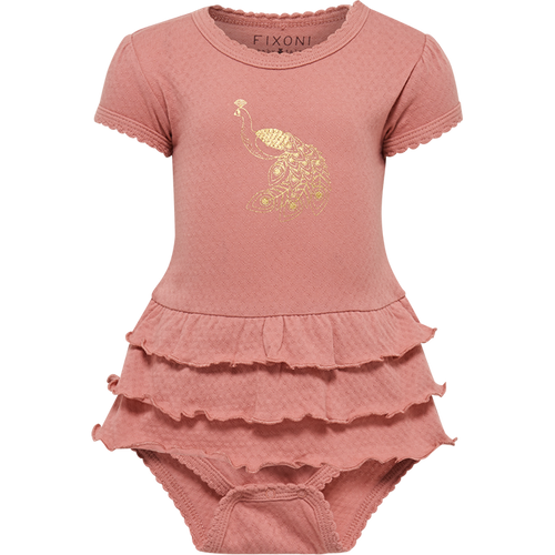 Fixoni Dusty Rose Bodysuit - 9m