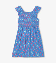 Load image into Gallery viewer, Hatley Flamingos Smocked Dress 2T