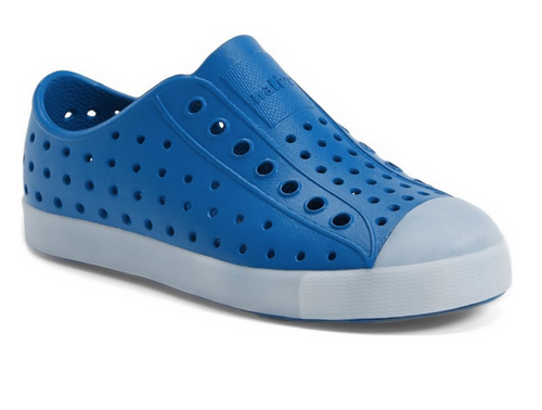 Native Shoes Jefferson Glow - Storm Blue - Juniors