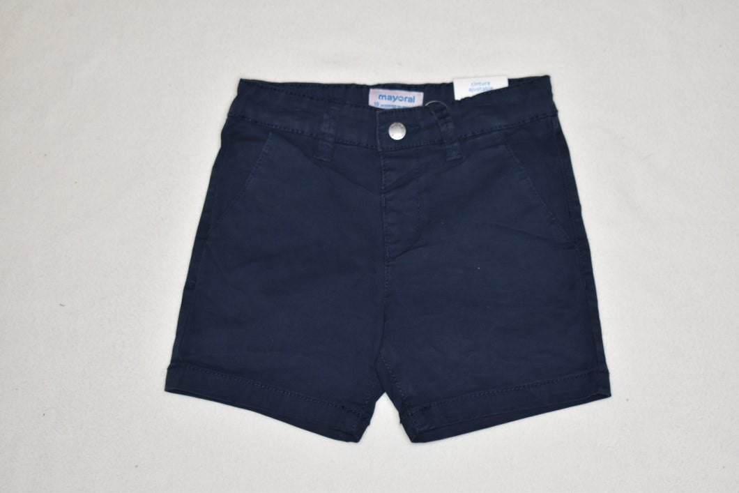 Mayoral Navy Twill Short - 18m