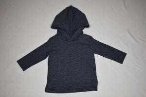 Miles Baby Dark Blue Hooded Sweatshirt