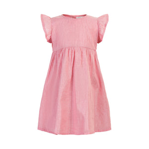 Creamie - Pink Dress with Silver Stripe