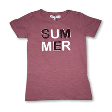 Load image into Gallery viewer, Minymo Rose Summer Sequins Tee - 7