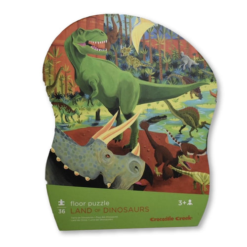 Croc Creek 36pc Land of Dino Puzzle