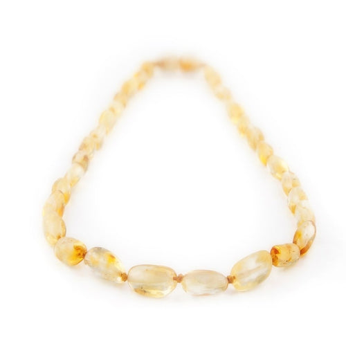Amber Teething Necklace - Honey Bean