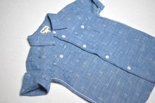 Load image into Gallery viewer, Hatley Chambray Anchors SS Button Shirt