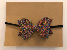 Load image into Gallery viewer, Large Bow Headband- Sparkle