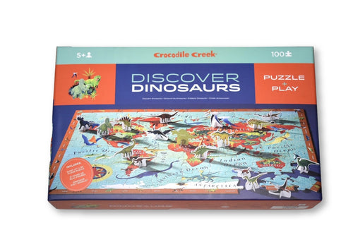 Discover Dinosaurs Puzzle 100pc