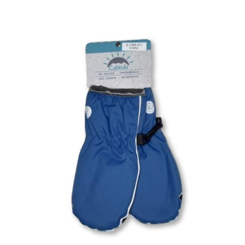 Calikids Midseason Waterproof Mitts - Deep Ocean
