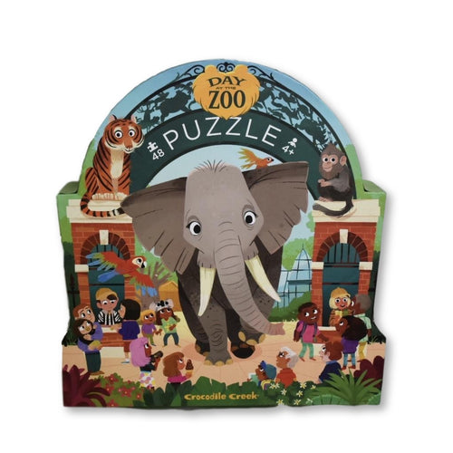 Day at the Museum - Zoo 48pc Puzzle