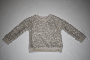 Mayoral Tan Pullover with Gold Accents - 4