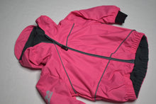 Load image into Gallery viewer, Calikids Fleece Lined Rain Jacket Bubblegum