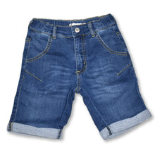 Load image into Gallery viewer, Minymo Boys Denim Sweat Short