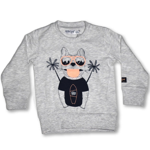 Dirkje Surf Dog LS Tee