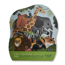 Load image into Gallery viewer, Croc Creek 36pc Jungle Friends Puzzle