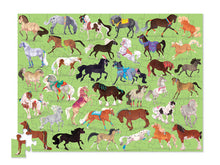 Load image into Gallery viewer, 36 Horses 100pc Tube Puzzle