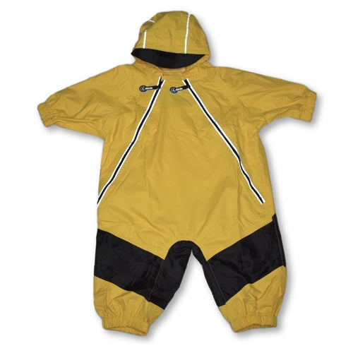 Calikids Infant Splash Suit Yellow 12m
