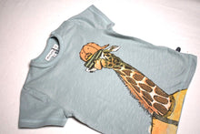 Load image into Gallery viewer, Minymo Mint Giraffe Tee