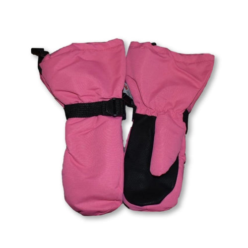 Jan&Jul Waterproof Lined Mittens - Hot Pink