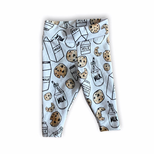Plum Tree Kids Milk and Cookies Leggings