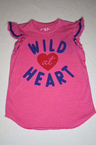 Chaser Wild at Heart Pink Tee - 12