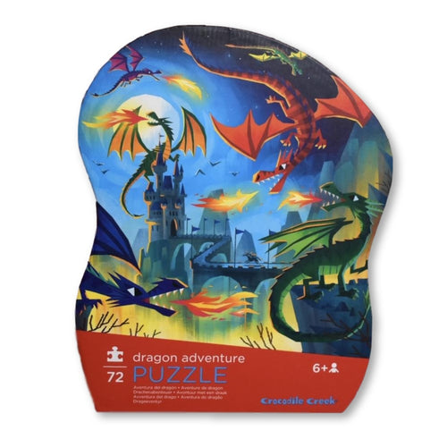 Croc Creek 72pc Dragon Puzzle