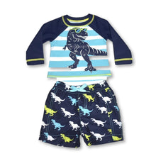 Load image into Gallery viewer, Hatley TRex Baby Rashguard Set