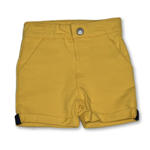 Minymo Boys Mustard Short