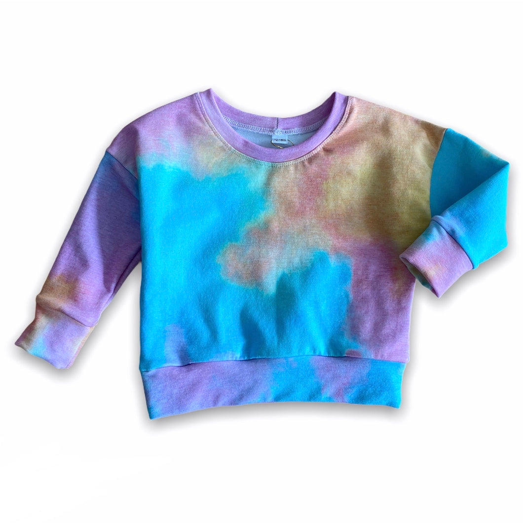 Plum Tree Kids Tie Dye Crewneck Sweater 3T
