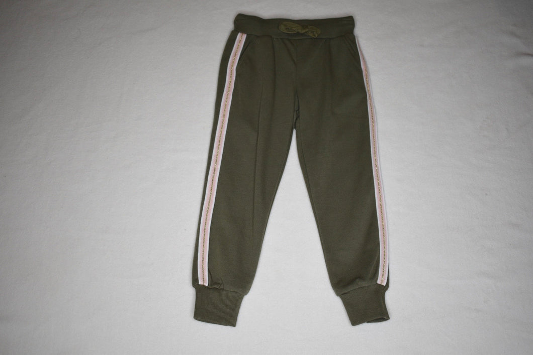 MID - Khaki Pant with Stripe