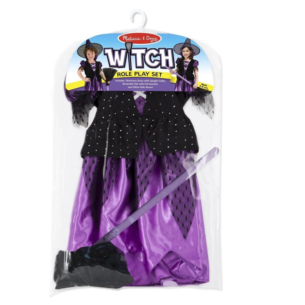 M&D Role Play Witch Costume