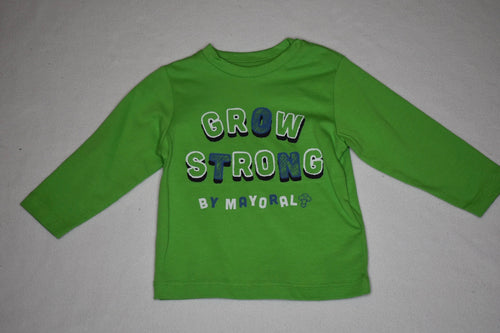 Mayoral LS Tee Lime - 9m