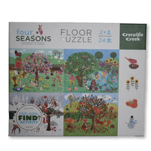 Load image into Gallery viewer, Seasons Early Learning 24pc Puzzle