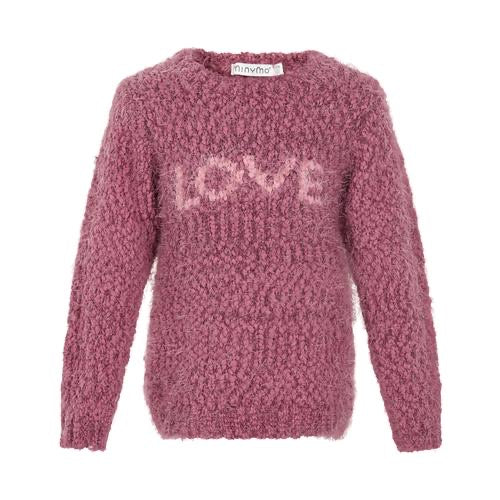 Minymo Love Pink Sweater - 4