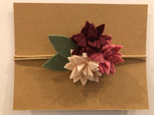 Load image into Gallery viewer, Flower Bunch Headband