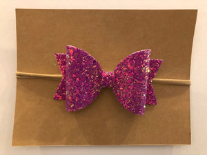 Large Bow Headband- Sparkle