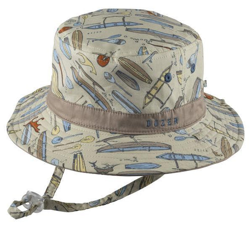 Dozer Baby Boys Bucket Hat - Koa 12-24m