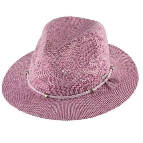 Millymook Safari Hat - Louisa Pink (O/S)