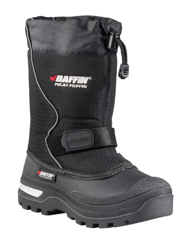 Baffin Mustang Black Winter Boot - Big Kid 6