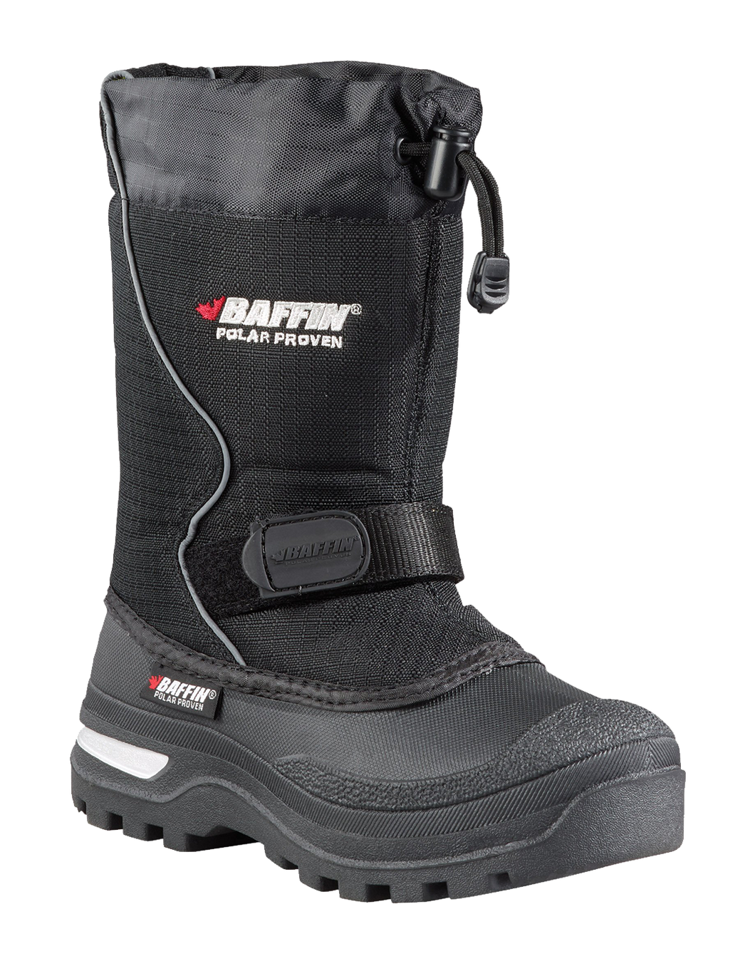 Baffin Mustang Black Winter Boot - Toddler 5