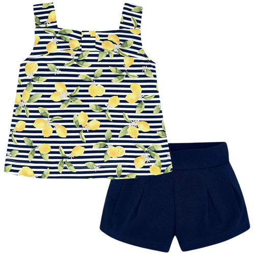 Mayoral Navy Lemons 2pc Set