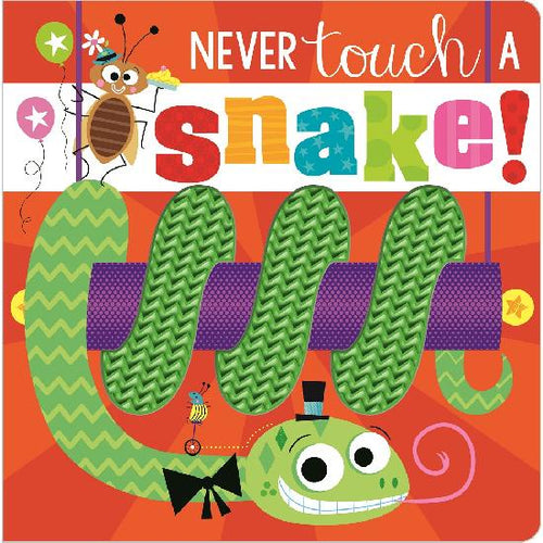 Never Touch a Snake! Book