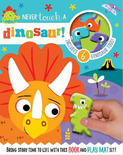 Never Touch a Dinosaur Read and Play Set