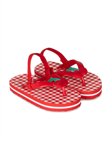 Losan Red Cherry Flip Flops