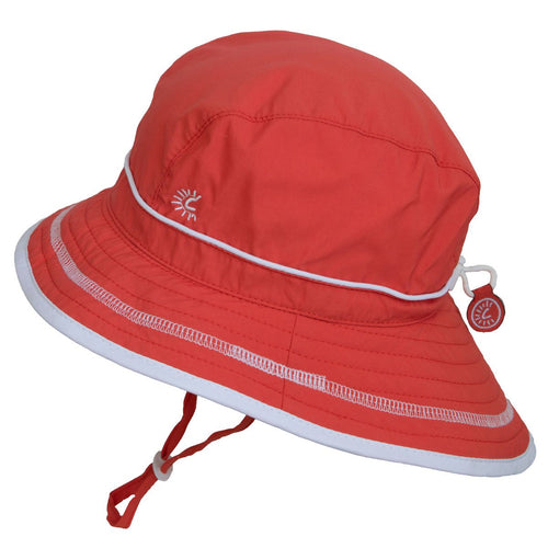 Calikids UV Beach Hat - Coral