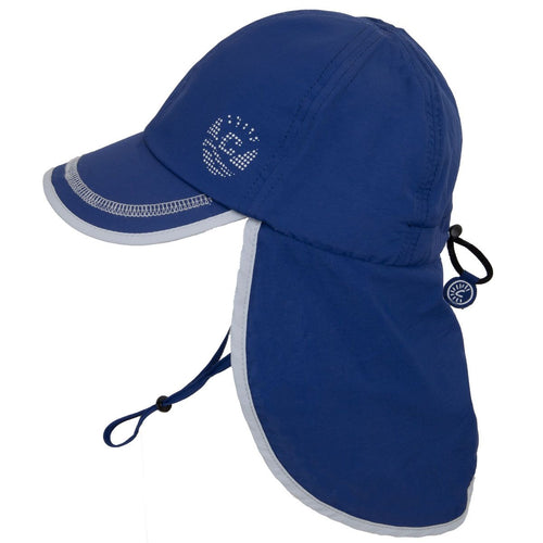 Calikids UV Flap Hat - Navy