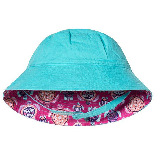 Hatley Pretty Sea Turtles Sun Hat 12-18m